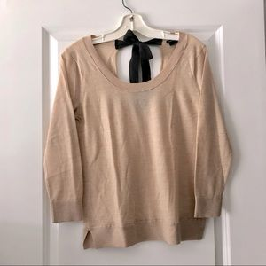 Club Monaco Sweater with bow back